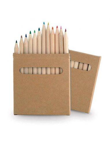 Caja de lápices 12 unidades