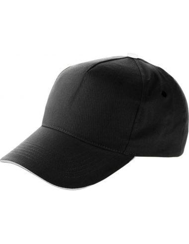 Gorra de algodón con visera sándwich