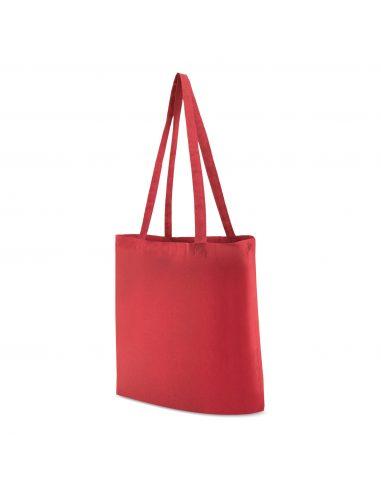 Bolsa de algodón de asa larga de colores