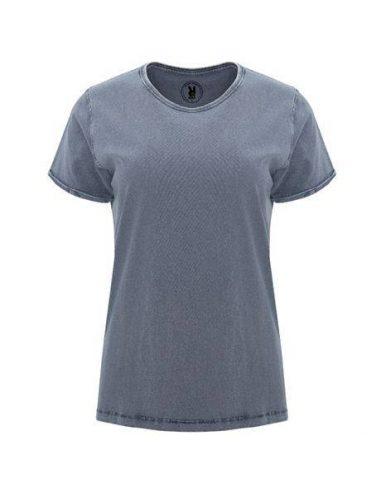 Camiseta efecto jeans para mujer HUSKY