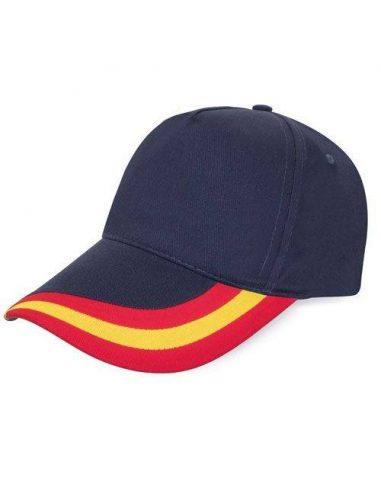 Gorra de España con bandera