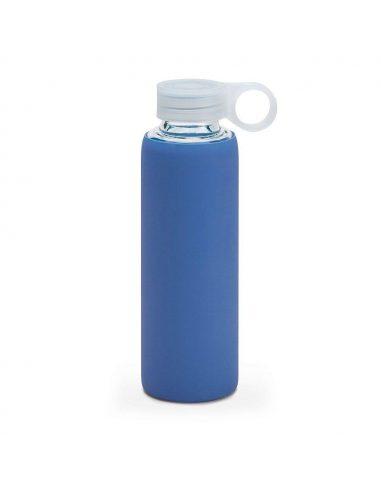 Botella de borosilicato con funda de neopreno
