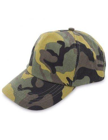 Gorra de camuflaje