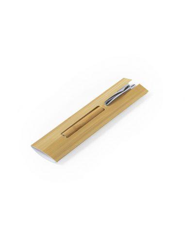 Funda para bolígrafo de bambú