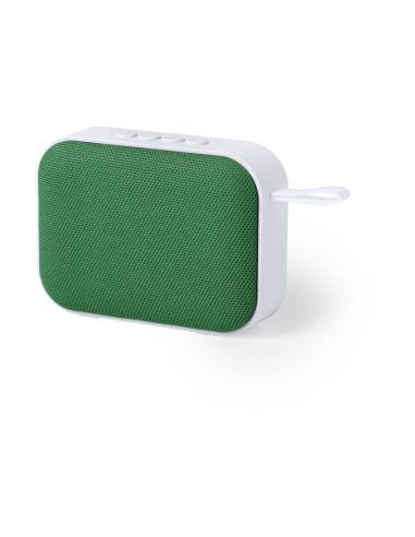 Altavoz blanco Bluetooth