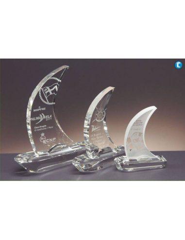 Trofeo de cristal VELA