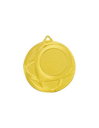 Medalla metálica para competiciones