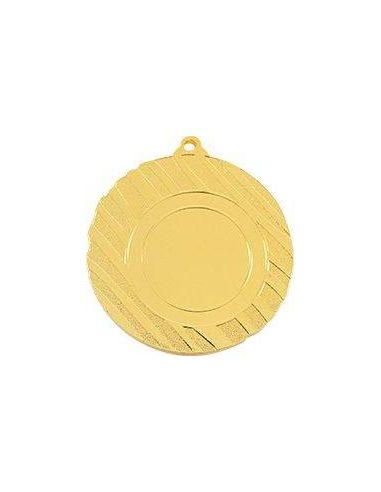 Medalla deportiva rayada