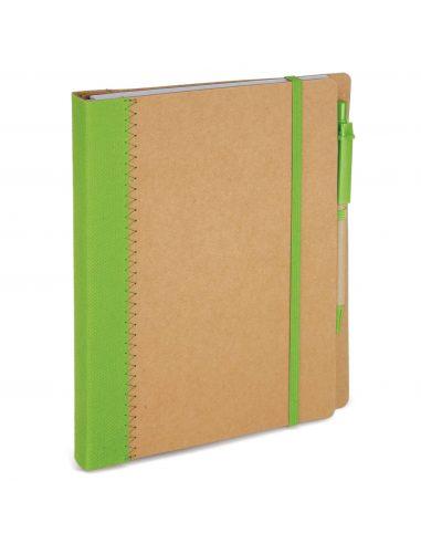 Cuaderno de cartón reciclado A5