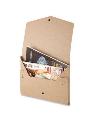 Carpeta de cartón reciclado