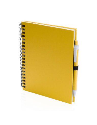 Libreta de cartón de colores