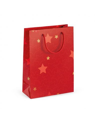 Bolsa de navidad brillante
