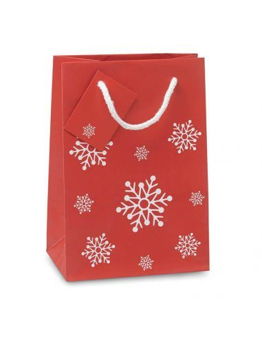 Bolsa de navidad para regalo pequeña