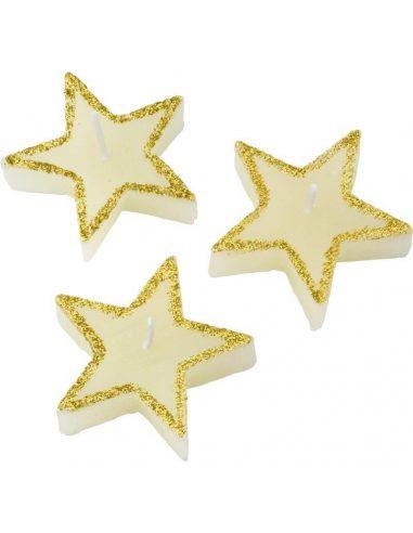 Set de velas de estrellas