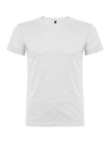Camiseta de algodón blanca