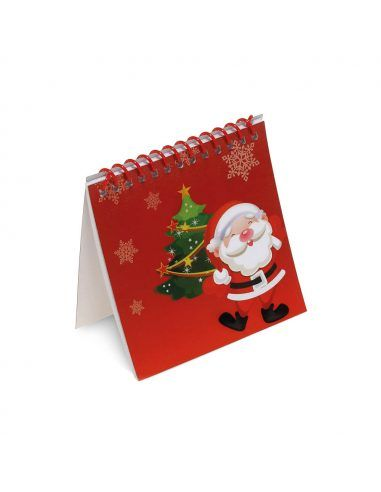 Libreta de Navidad para colorear