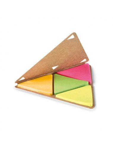 Notas adhesivas triangulares