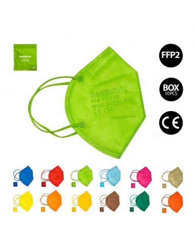 Mascarilla FFP2 de colores Healfabric