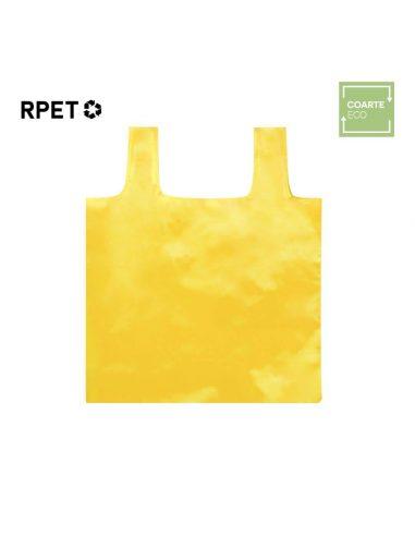 Bolsa plegable de plástico reciclado RPET