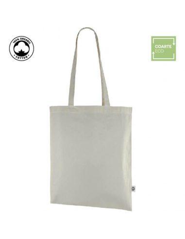 Bolsa de algodón orgánico ecológico GOTS