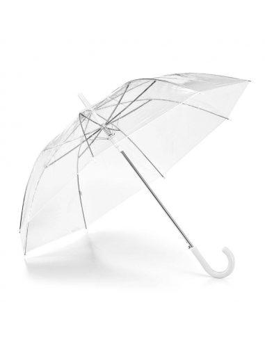 Paraguas de bastón transparente