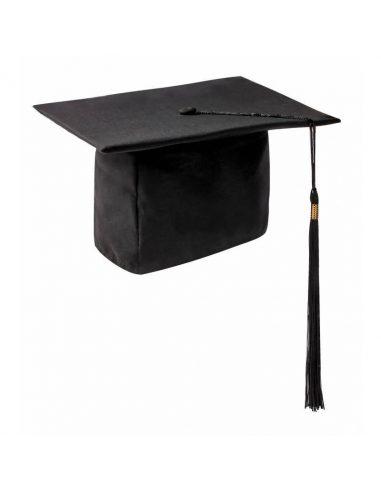Birrete de graduación clásico