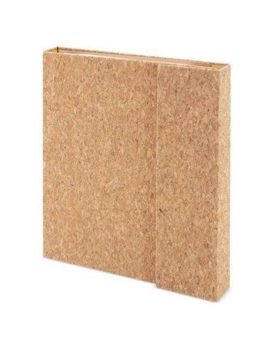 Cuaderno magnético de corcho con marcadores