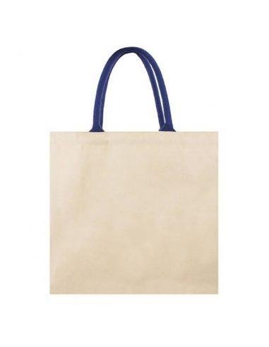 Bolsa de algodón con asa reforzada
