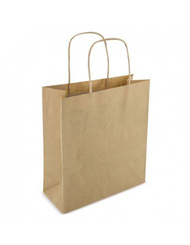 Bolsa de papel reciclado 22 x 23 x 10 cm