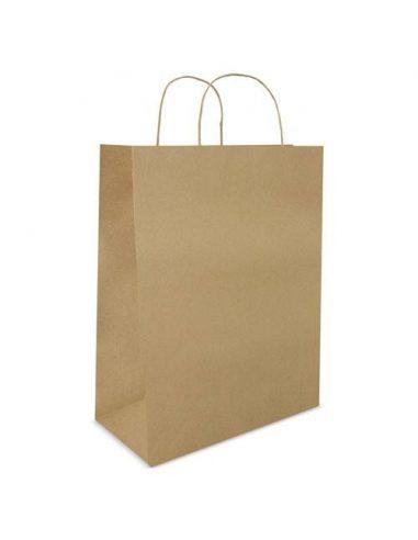 Bolsa de papel reciclado 28 x 33 x 10 cm