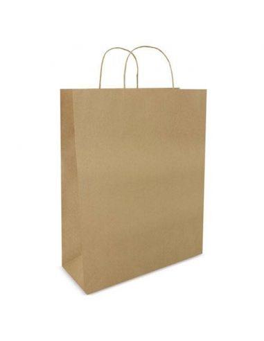 Bolsa de papel reciclado 32 x 41 x 12 cm