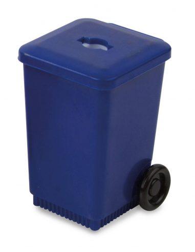 Sacapuntas cubo de reciclaje