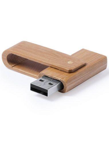 Memoria USB de bambú