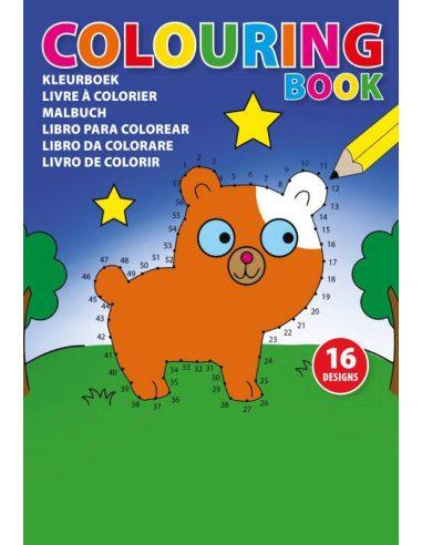 Libro infantil A5 para colorear
