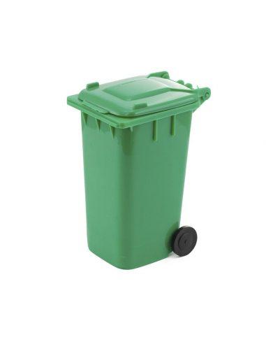 Portalápices cubo de reciclaje