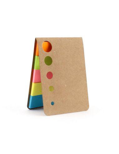 Bloc de notas adhesivas de colores