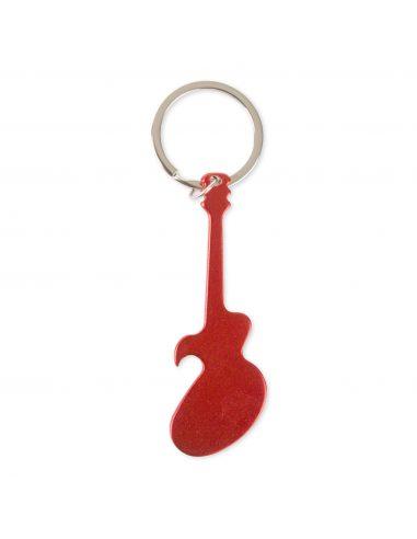 Llavero abridor con forma de guitarra