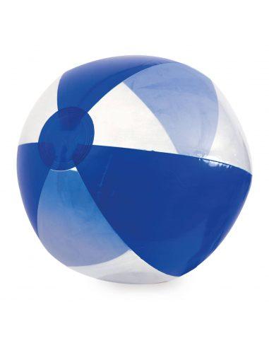 Balón de playa de rayas transparente