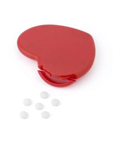 Expendedor de caramelos en forma de corazón