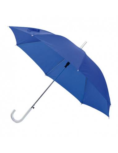 Paraguas con mango de plata