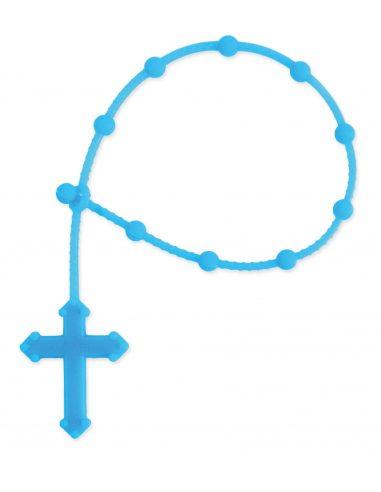 Rosario religioso de mano