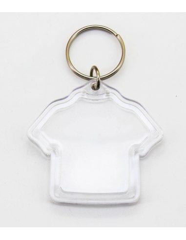 Llavero de ABS con forma de camiseta