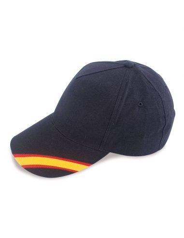 Gorra con bandera nacional