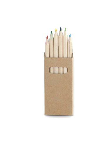 Caja de lápices 6 unidades