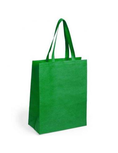 Bolsa de non woven con fuelle de colores