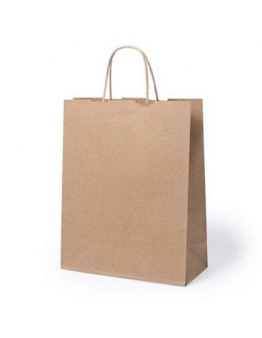 Bolsa de papel reciclado 25 x 31 x 11 cm