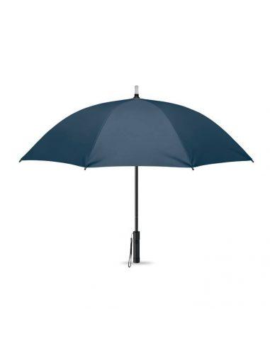 Paraguas con luz y linterna