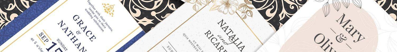 Invitaciones de boda personalizadas para invitados