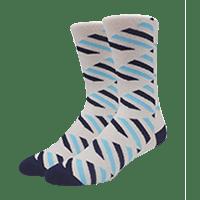 calcetines personalizados de cebra