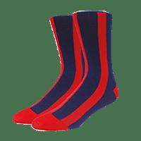 calcetines personalizados rayados